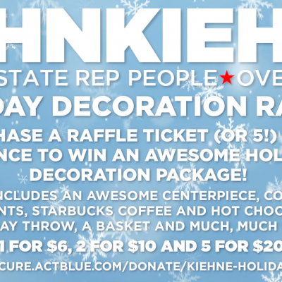 TEAMKIEHNE2020 HOLIDAY RAFFLE